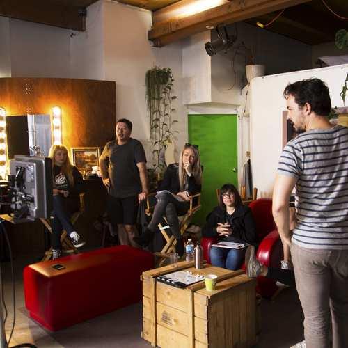 Noise Digital team and Boldly Director Geoff Manton
