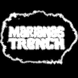 Marianas Trench logo white