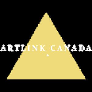 Artlink Canada logo white