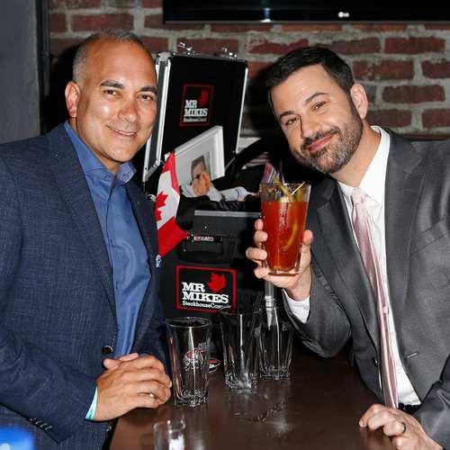 Jimmy Kimmel Drinks a Caesar