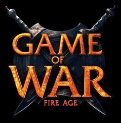 Game of War logo white
