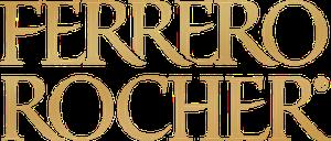 Ferrero Rocher logo white