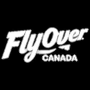 FlyOver Canada logo white