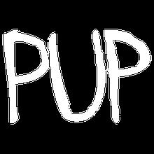 PUP logo white