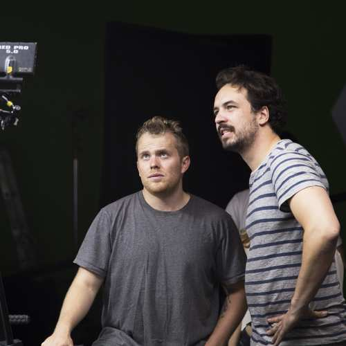 Director Geoff Manton and DP Jon Thomas